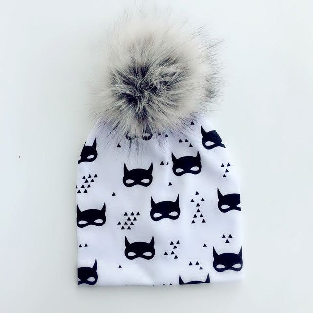 Fashion Baby Winter Warm Beanies - Baby Alex