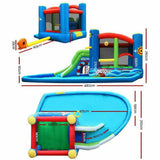 Large Happy Hop Inflatable Water Jumping Castle Bouncer & Slide Splash = BabyAlex, Afterpay Available, Toddler Clothes, Diaper Bag, Designer Diaper Bag, Diaper Bag Backpack, Baby Shop Australia, Alex Collections, Baby Clothe Australia