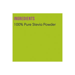 Pure Natural Stevia Powder