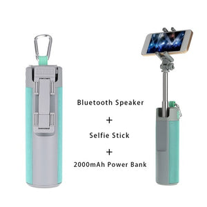 5 IN 1 Bluetooth Speaker Selfie Stick (BEST SELLER)