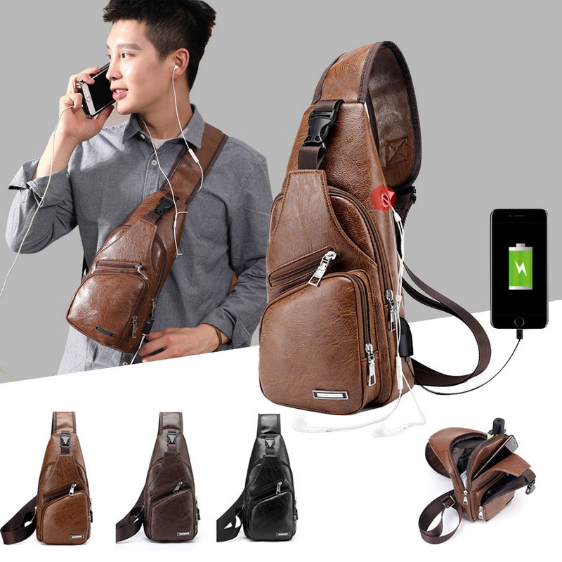 Anti Theft Leather Bag (BUY 1 TAKE 2)