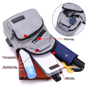 CANVAS  ANTI THEFT BAG(BUY 1 GET 2)