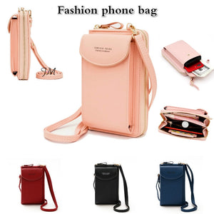 PU Leather Wallet,Sling Bag (Buy1 Take1)