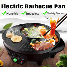 Load image into Gallery viewer, Korean BBQ Grill & HOT POT (2 IN 1)