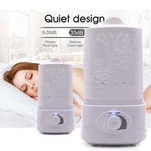 Load image into Gallery viewer, ULTRASONIC AIR HUMIDIFIER WITH LED LIGHT