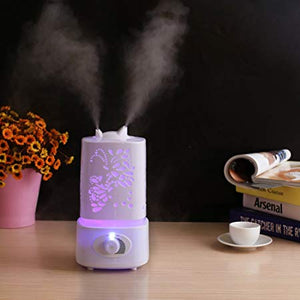 ULTRASONIC AIR HUMIDIFIER WITH LED LIGHT