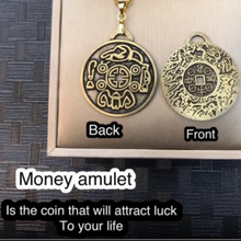 Load image into Gallery viewer, MONEY AMULET ATTRACT MONEY & WEALTH