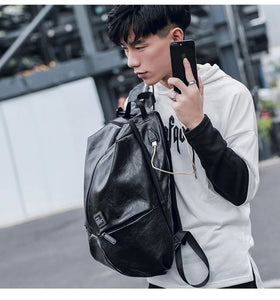 High-Quality Leather Backpack