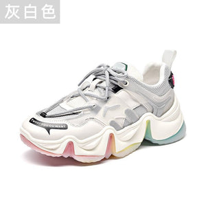 RAINBOW CHUNKY SHOES