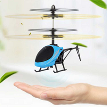 Load image into Gallery viewer, Mini Induction Helicopter Toys