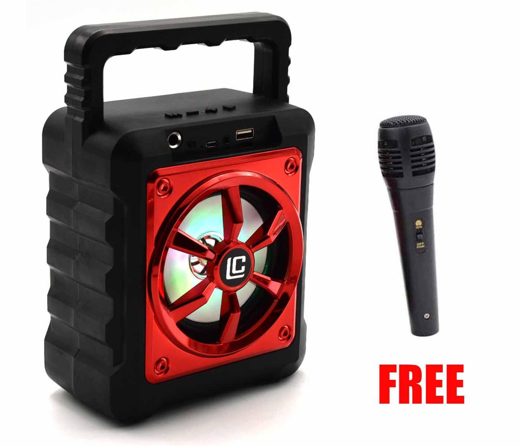 Karaoke Stereo Portable wireless bluetooth speaker