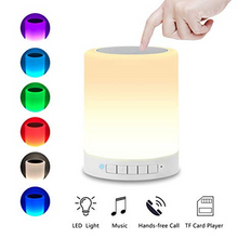 Load image into Gallery viewer, Led Lamp Bluetooth Speaker
