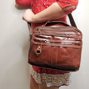 BROWN SLING BAG (BUY 1 TAKE 1)