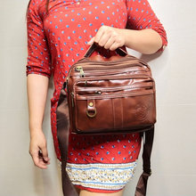 Load image into Gallery viewer, BROWN SLING BAG (BUY 1 TAKE 1)