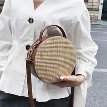 Load image into Gallery viewer, 😍Rattan Leather SlingBag😍