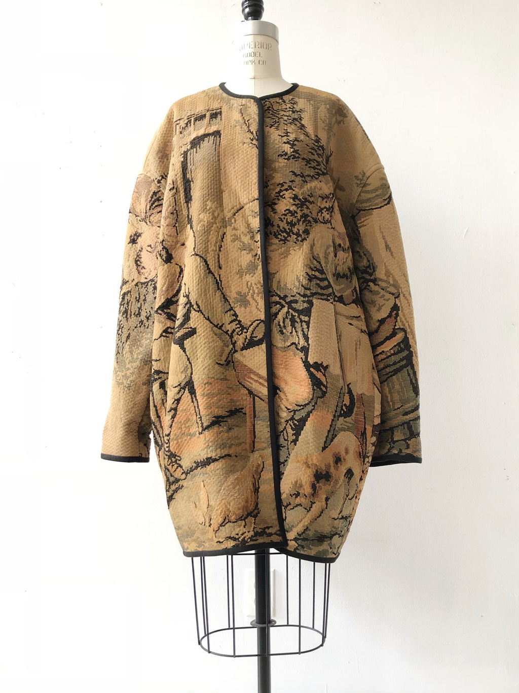 baroque tapestry coat