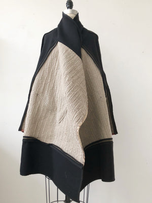 moving blanket cocoon coat
