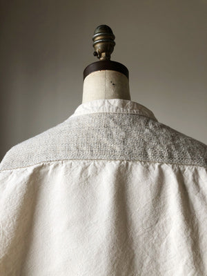 thistle hill homespun and canvas big shirt