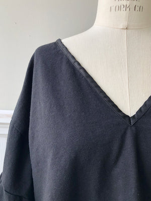 hemp and cotton jersey Vienna top