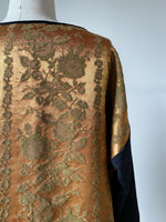 antique rusted copper damask top