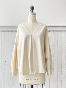 organic cotton vienna top