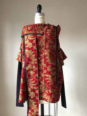 anna maria garthwaite top with detached scarf