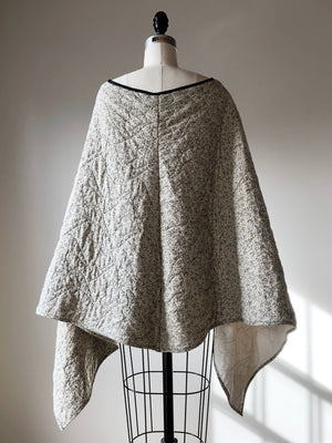 quilt poncho