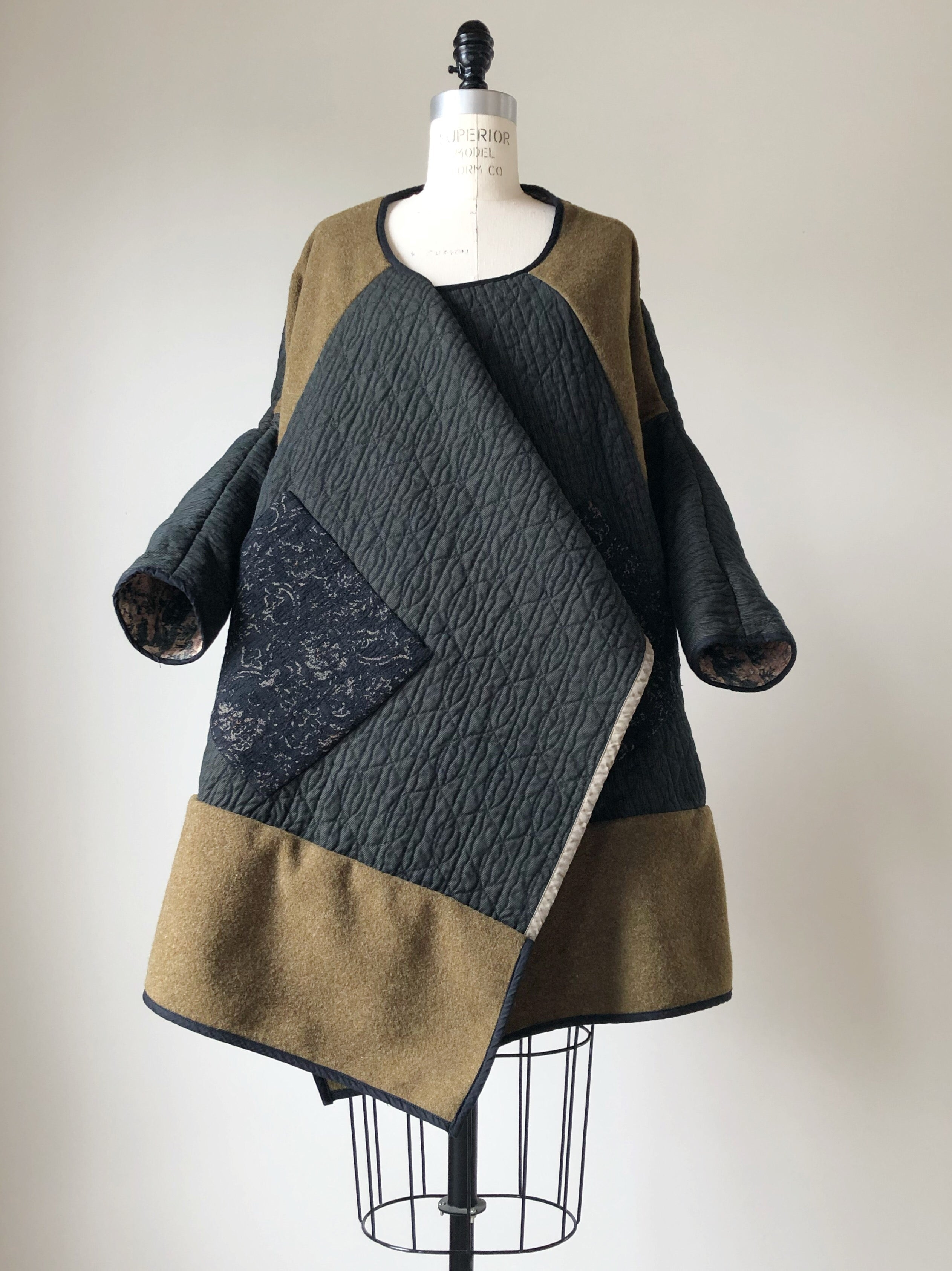 moving blanket samurai cocoon jacket