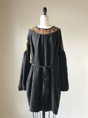 Vienna smock dress with ties #2