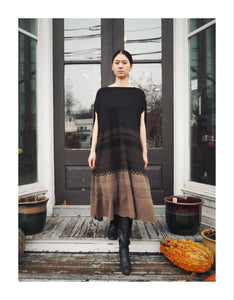 hand knit blanket dress