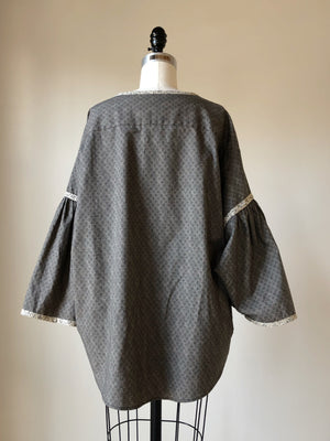 19th century repoduction print big shirt