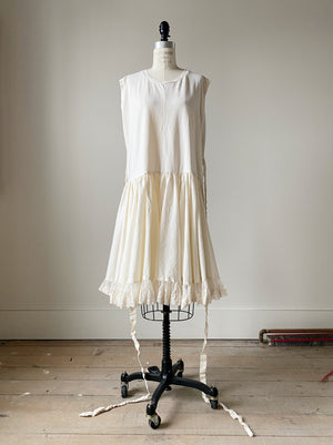 organdy and lace jersey dress