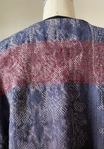 hand dyed and felted lincoln sweatshirt