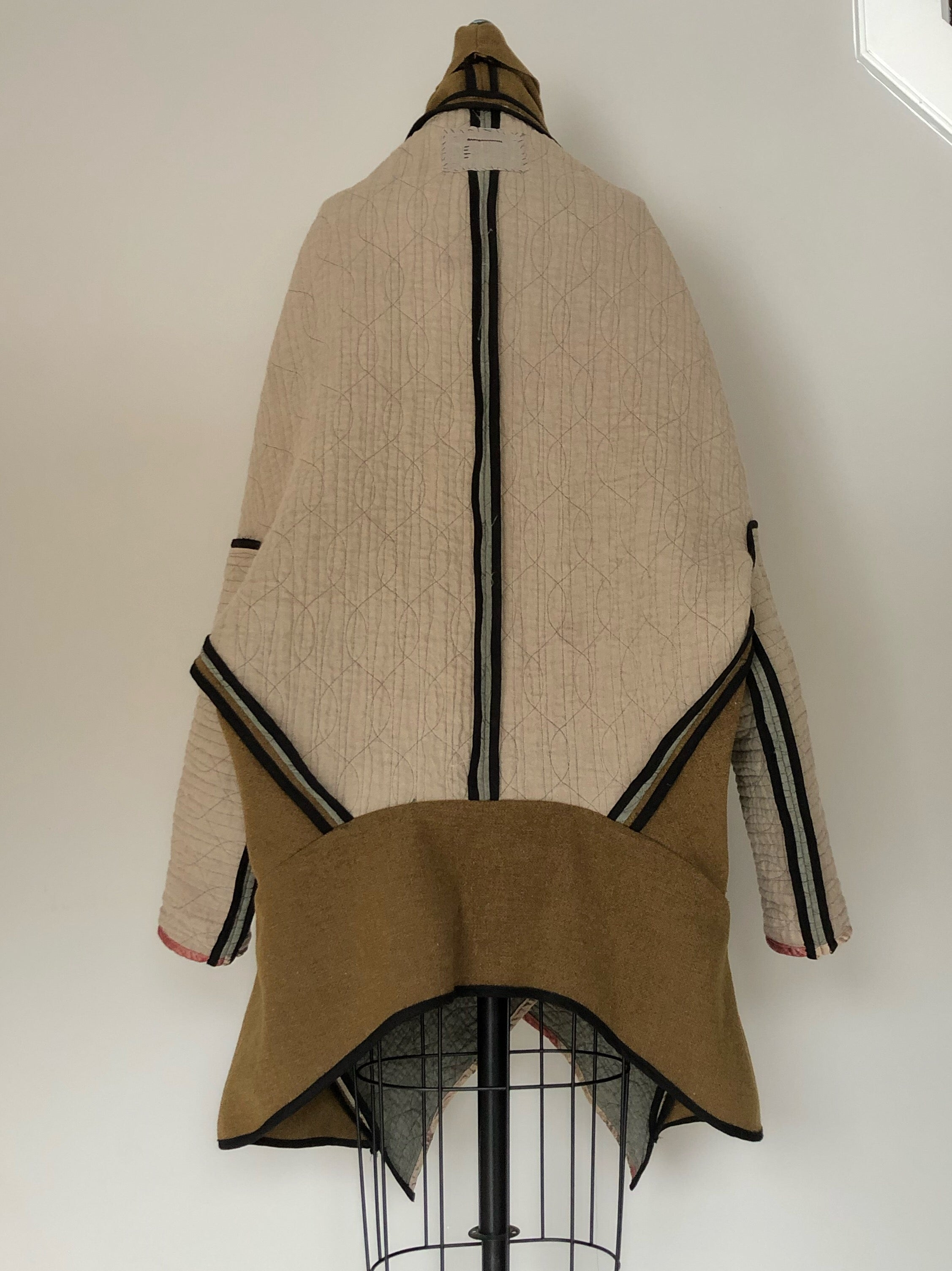 samurai moving blanket coat