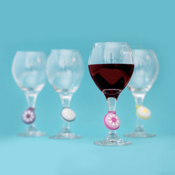 Bright Spots on Wine Glasses