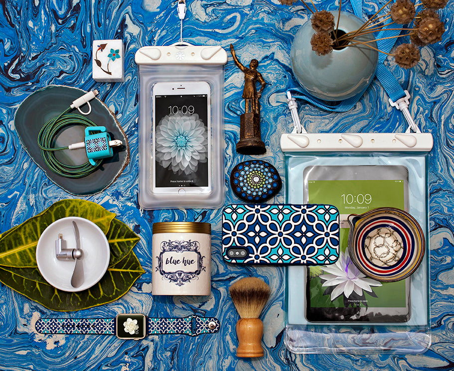 Tech Candy Blue/Teal Hues Product Grouping
