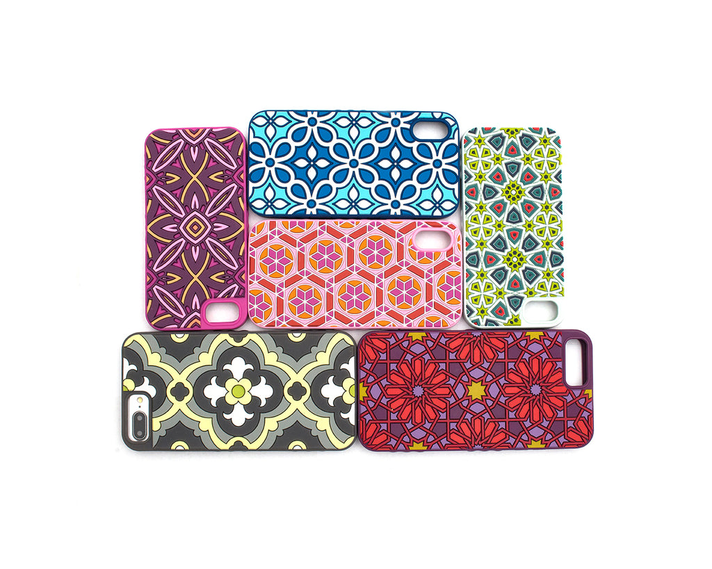 6 Tech Candy Kaleidoscopic Cases