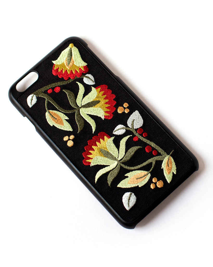 Better Off Thread Embroidered Case (iPhone 6/6S/7/8 Plus): Warm