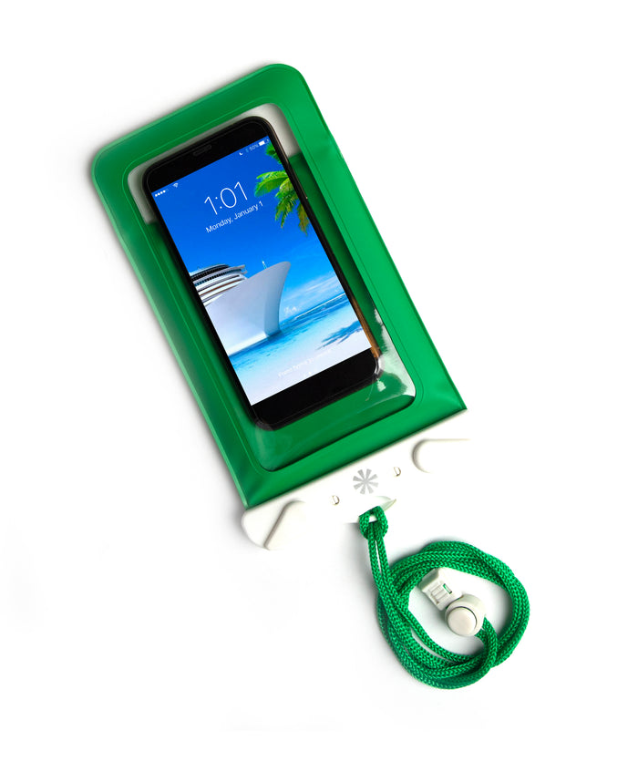 Dry Spell Water Defender Bag (Phone) : Green