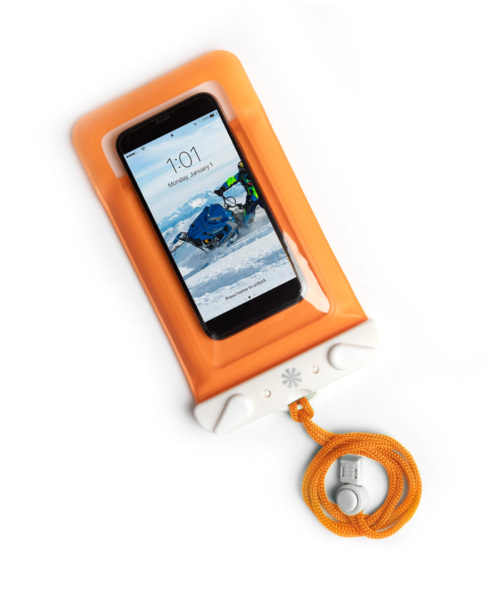 Dry Spell Water Defender Bag (Phone) : Orange