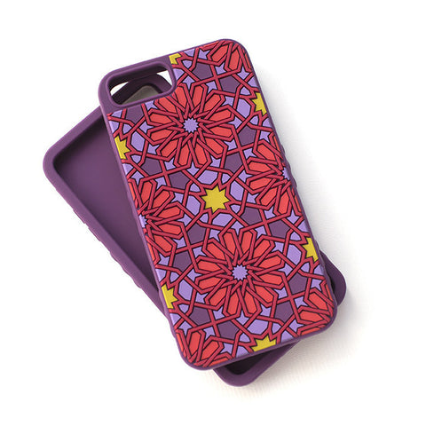 Kaleidoscopic Multi-Faceted Case-Purple/Red (iPhone 6/6S/7/8 Plus)