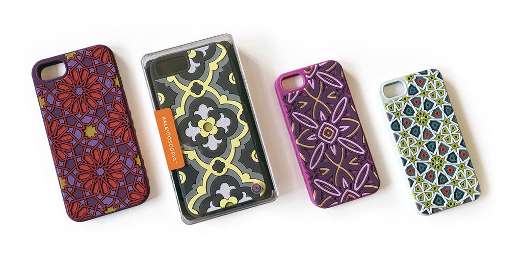 4 Tech Candy Kaleidoscopic Cases