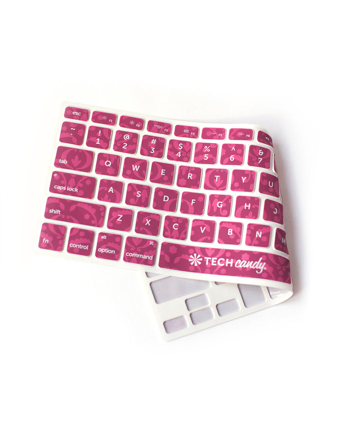 Keyboard Protection Program Keyboard Cover : Bordeaux
