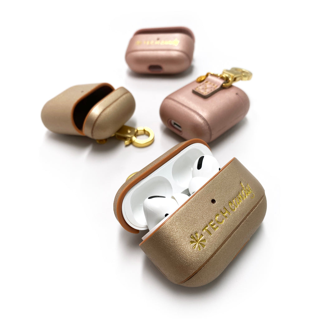 4 Mixed Metals AirPods and AirPods Pro Cases