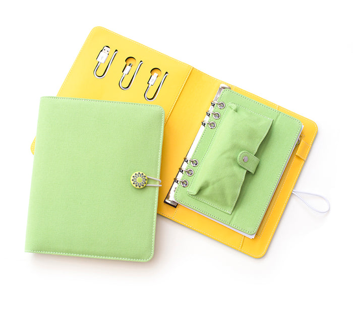 Tech Candy Power Planner Lime Green/Sunshine