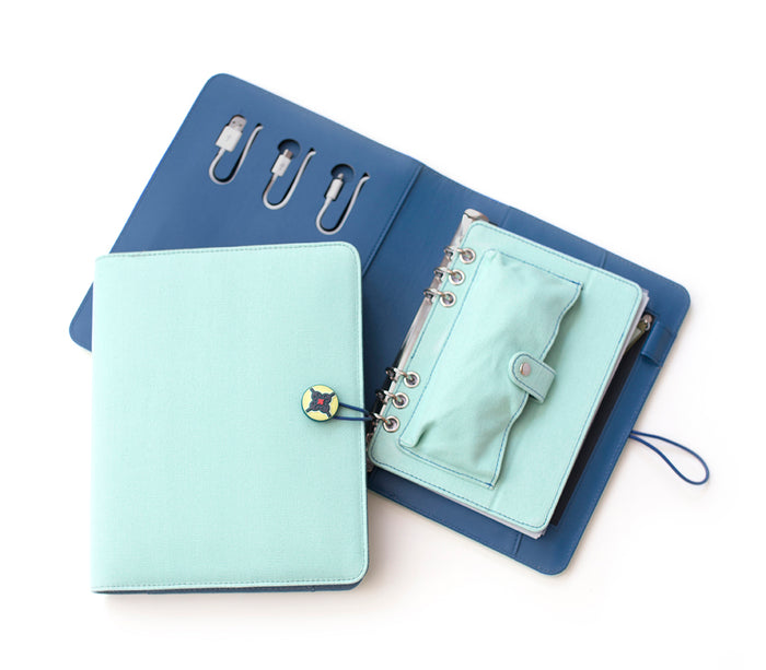 Tech Candy Power Planner Light Mint/Teal