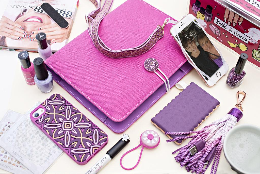 Tech Candy Bright Pink/Purple Hues Product Grouping