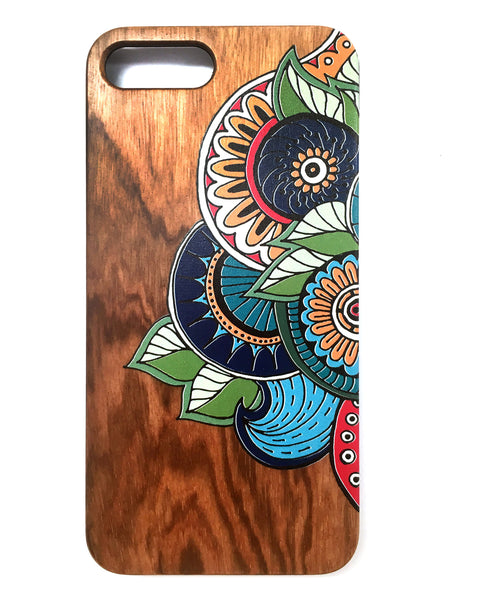 Woodie Case Doodle Bug (iPhone 7 Plus Only)