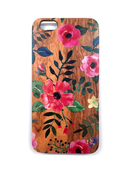Woodie Case Water Colors (iPhone 6/6S Plus Only)