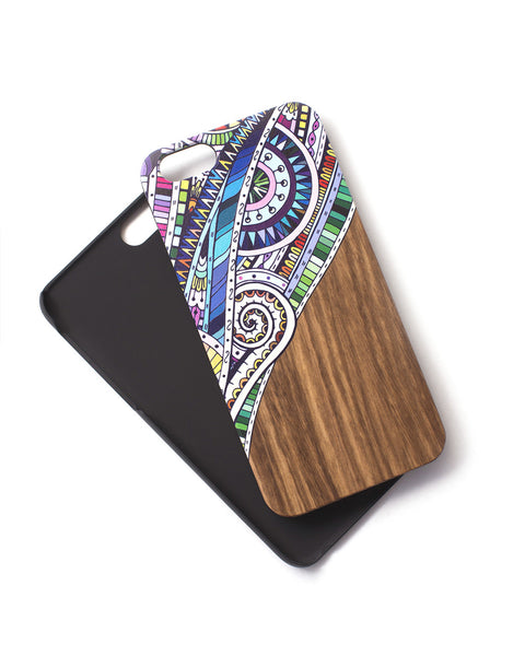 Woodie Case Doodle Bug (iPhone 6/6S Only)